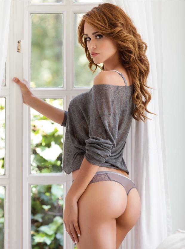 Redhead girls ass