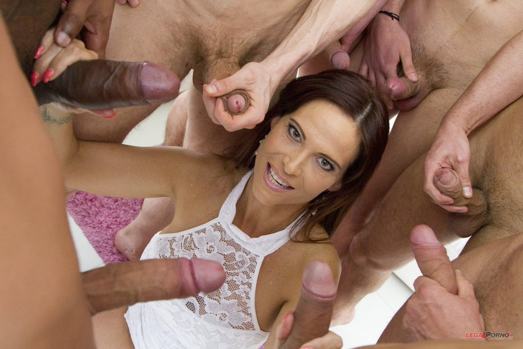 A naughty brunette likes luxury 5