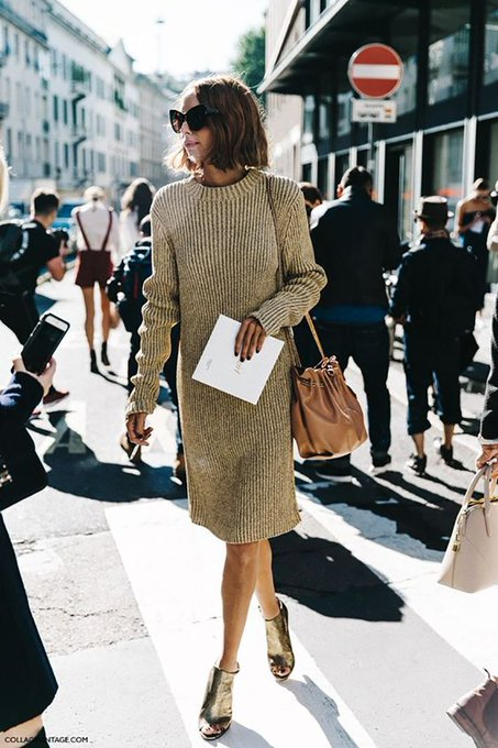 Sunday's Inspiration: Knitwear