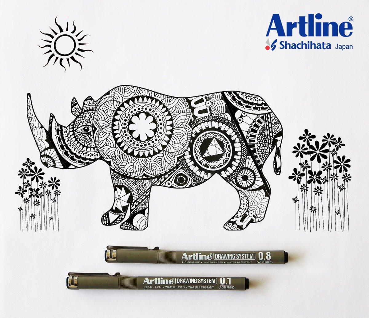 Image result for artline drawing system pen