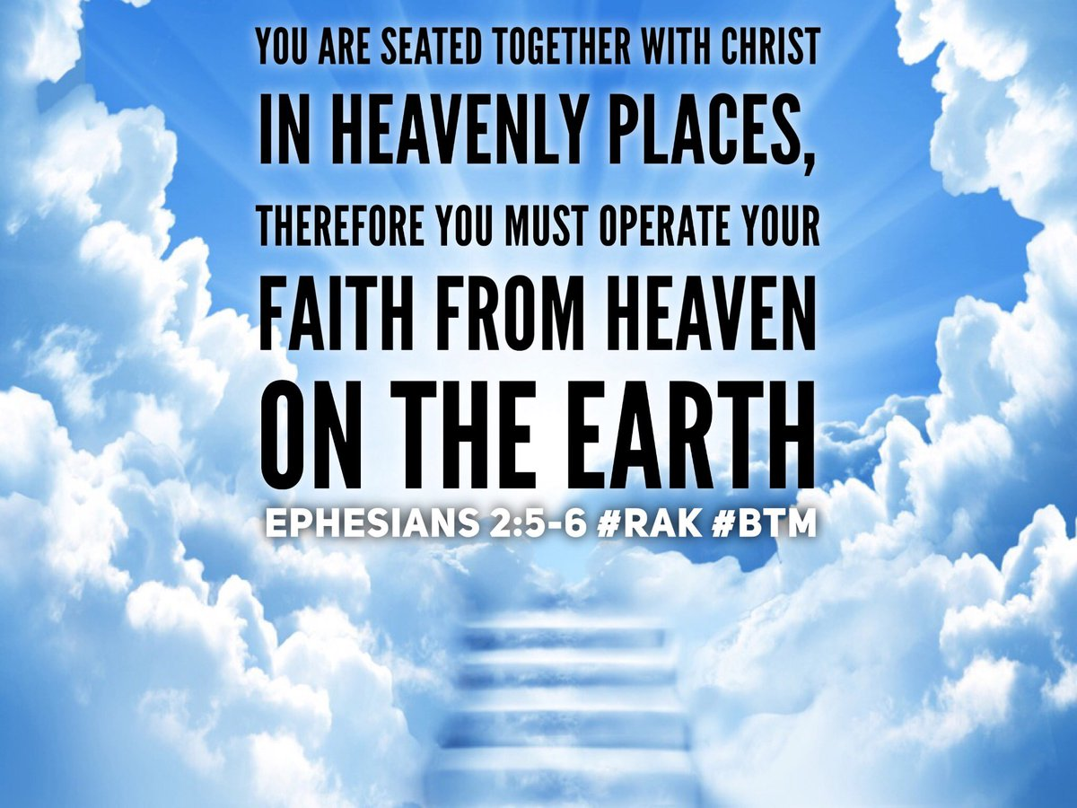 We are seated in heavenly places far above principalities