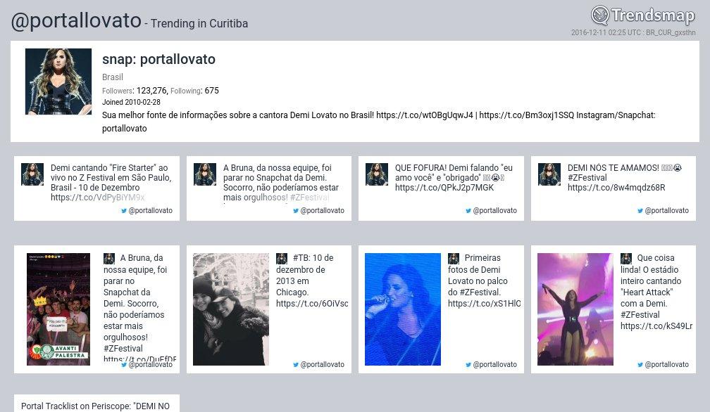 Snap: Portallovato, @portallovato é tendência em #Curitiba  https://t.co/VqTs14OKZG https://t.co/jASTWfY5o0