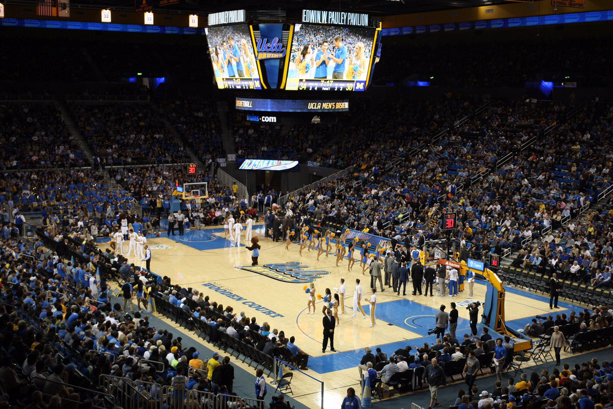 Ucla Basketball On Twitter A Sellout Crowd Of 13 571