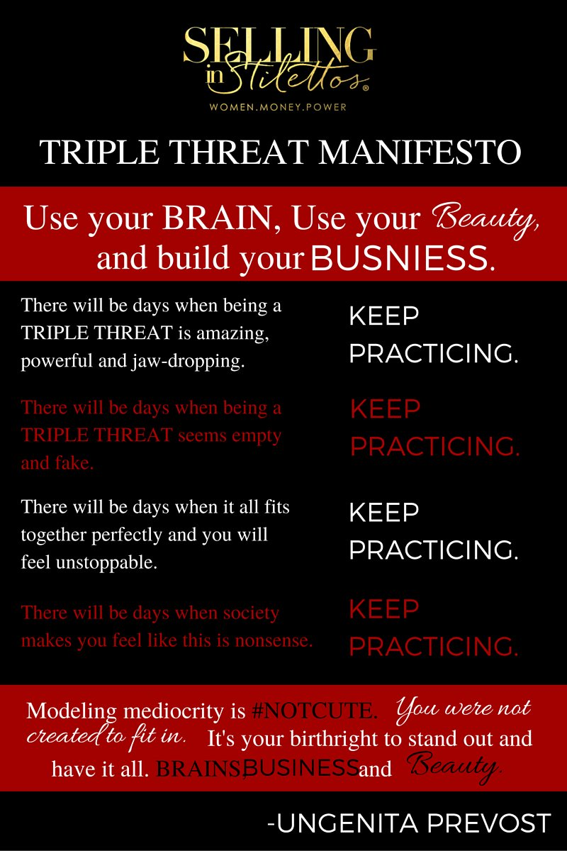 Have you read the #TripleThreat Manifesto? https://t.co/hxCNuqijLY https://t.co/S8ZuyEwGMj