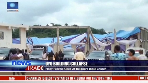 At least 60 killed in church collapse in Nigeria: officials