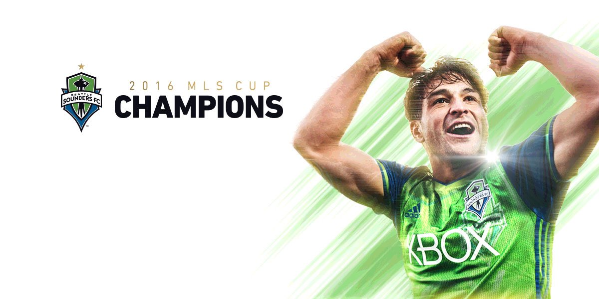 It's our time!  Your Seattle Sounders are the 2016 @MLS Cup Champions!
