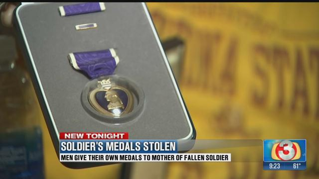 Platoon members donate their own medals to mom of AZ fallen soldier @LindseyReiser