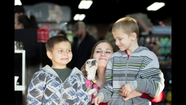 Boy with autism reunited with therapy dog