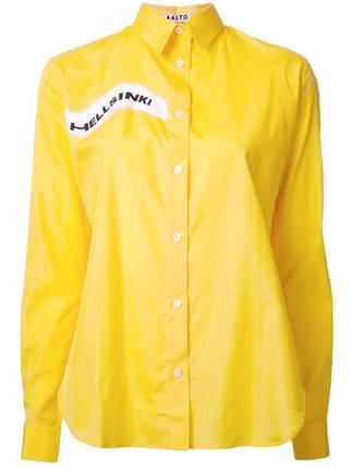 Blackpink Style On Twitter Lisa Aalto Hellsinki Printed Shirt