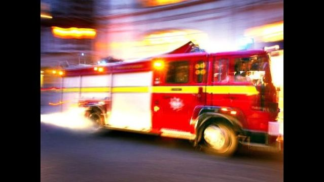 One injured in Md. apartment fire