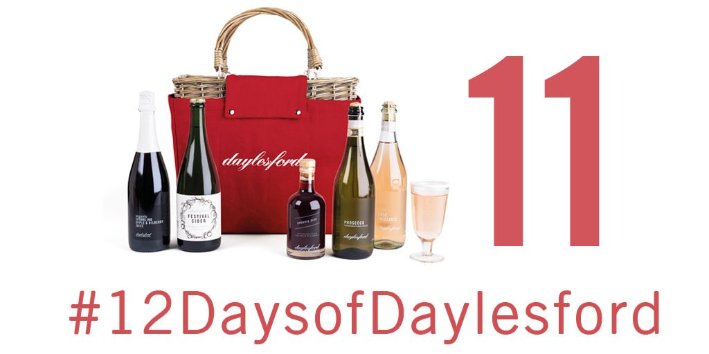 A hamper of drinks fit for a king - our penultimate prize in our #12DaysofDaylesford #competition. Follow, like & RT to #Win. Good luck!