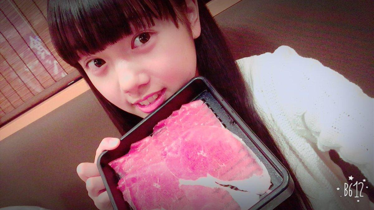 お肉と未来ちゃん