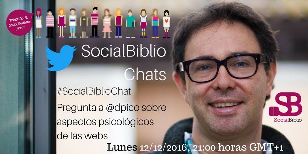 Thumbnail for SocialBiblioChat Aspectos psicológicos de las webs 12/12/2016