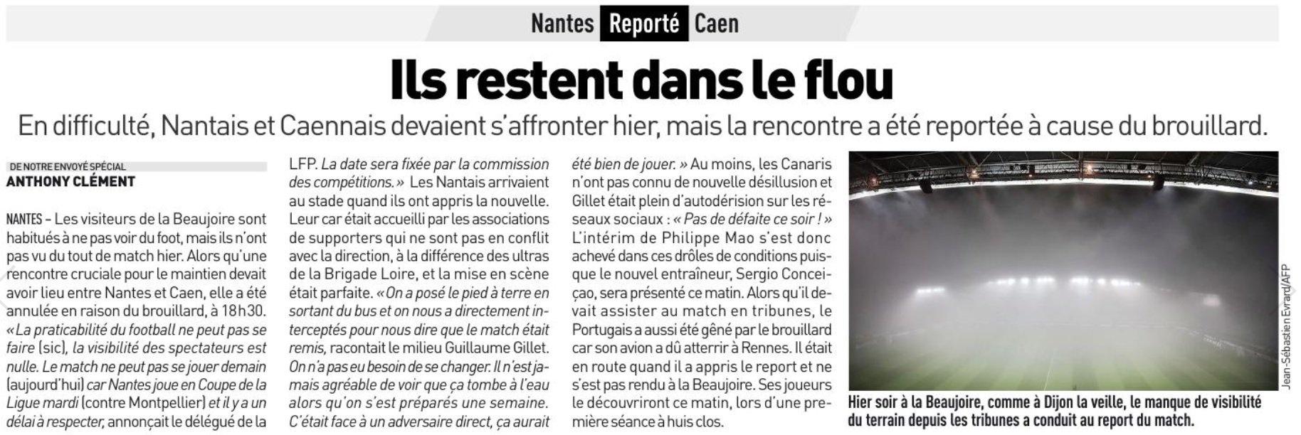 [17e journée de L1] FC Nantes 1-0 SM Caen  CzZBp5VWgAAwhVu