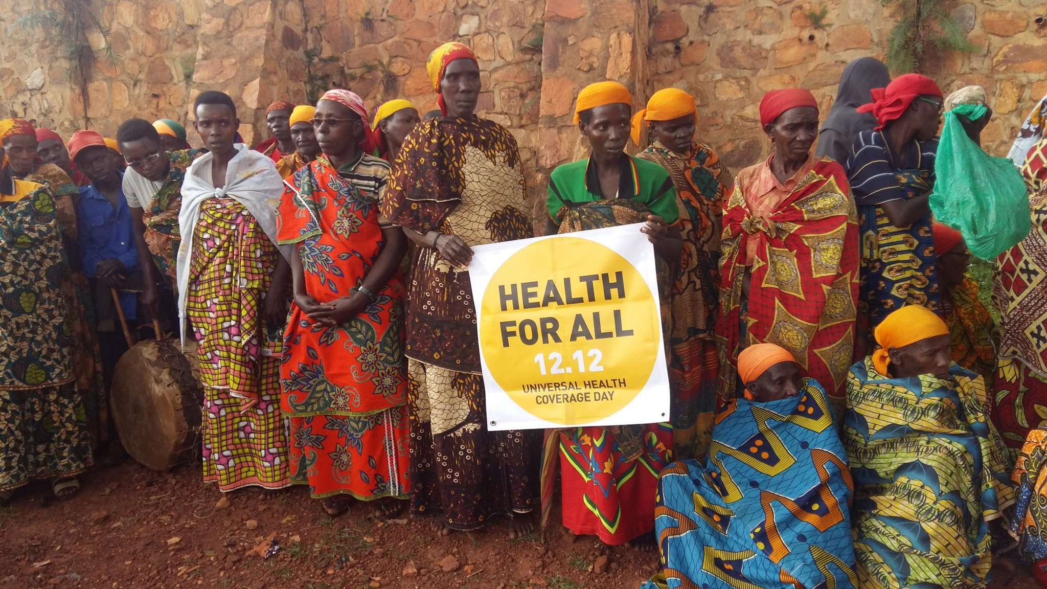 #HEALTHFORALL Health is a right not a privilege @UHC_Day @IHP_plus @LMGforhealth @HFGProject Celebration of UHC in BBI @UN @AA_SouthAfrica https://t.co/sfICVbZkbN