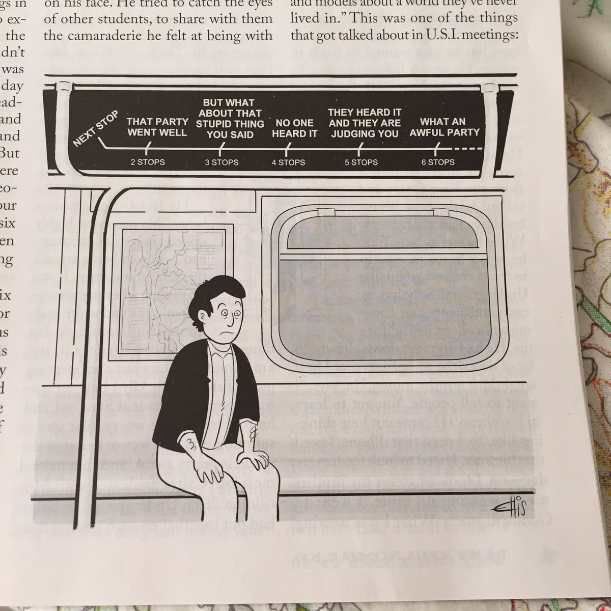 I have never related to a cartoon more than I relate to this one in the new issue of the New Yorker. https://t.co/pJe6pqbVo5
