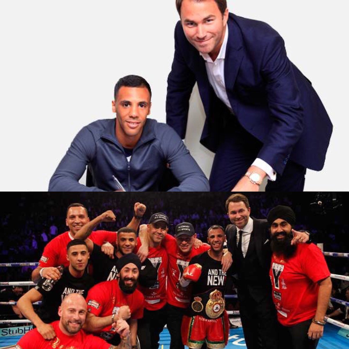 Started from the bottom now we here @eddiehearn
