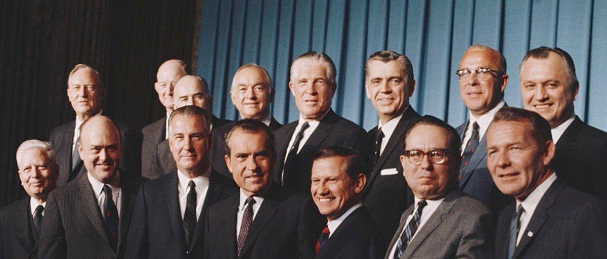 Image result for nixon cabinet 1968