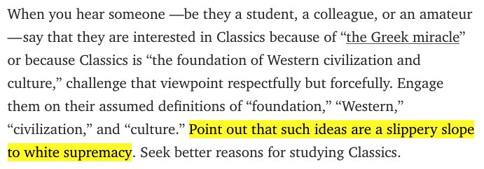 This is truly terrible advice about what to tell someone who is interested in the Classics. https://t.co/AXakFFRGrE https://t.co/UqLiX8gbPE