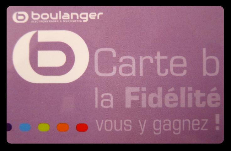 carte de fidélité boulanger FW on Twitter: