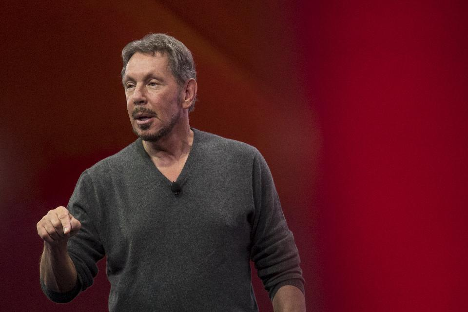 Larry Ellison's net worth dropped $1.9B after Oracle missed its revenue estimates last week