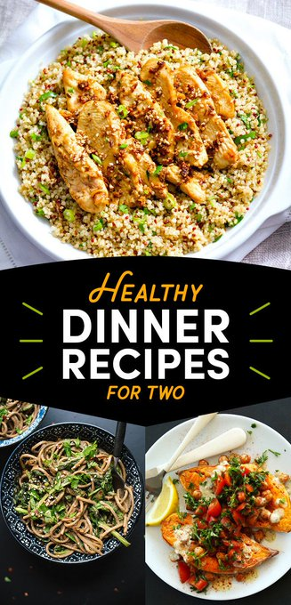 12 Healthy Dinner Recipes For Two