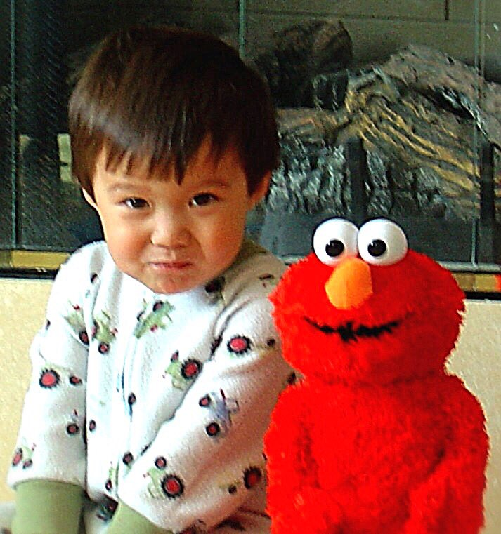 #TickleMeElmo is a dream for '00s kids too! #FreshOffTheBoat #Emery #MiniMe  @FreshOffABC<br>http://pic.twitter.com/XfulyNIJYv