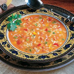 Red Beans And Rice With Shrimp Soup