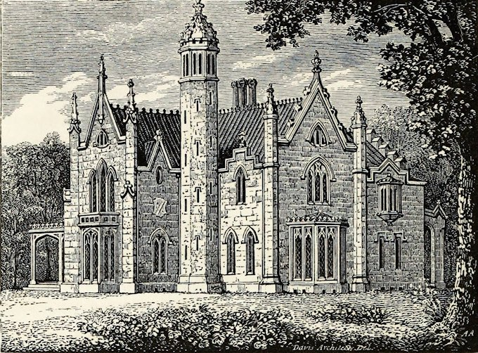 Identified: this, the inspiration for the MK Haunted Mansion, was an 1840 villa in Albany, NY. https://t.co/1ahEA5FNvX