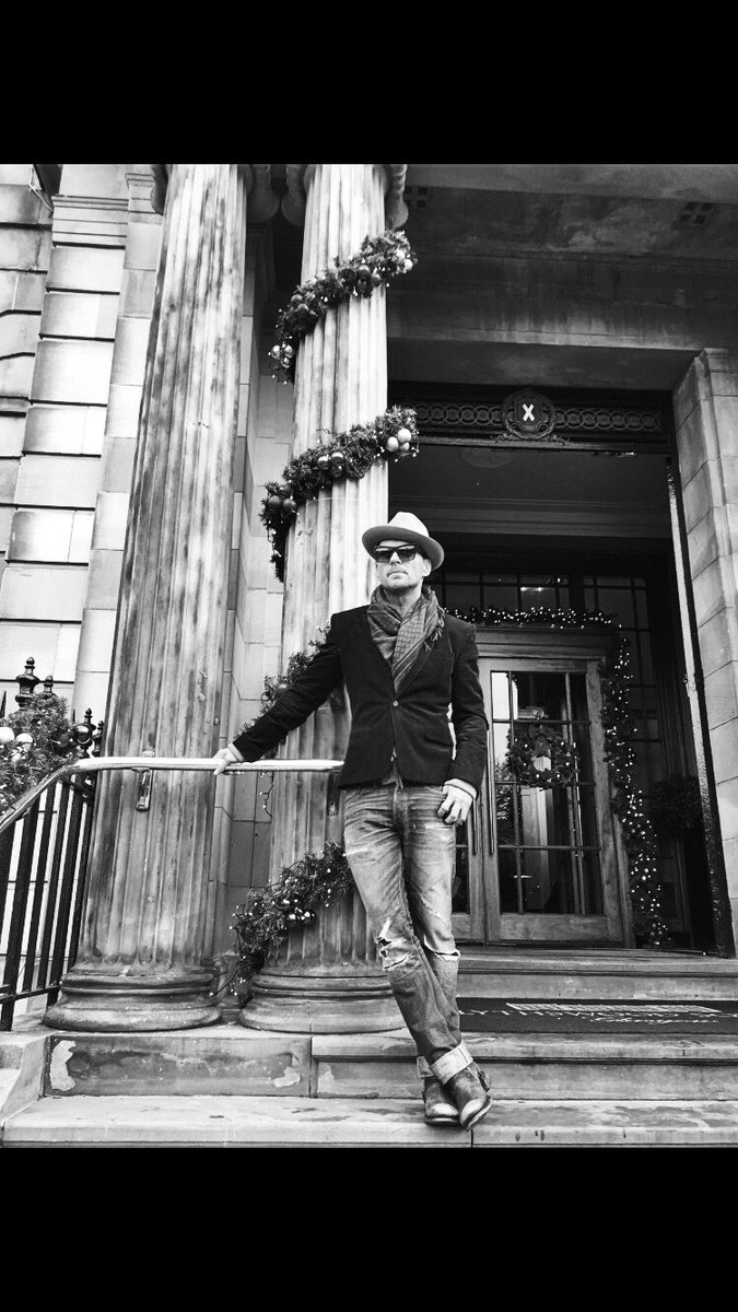 Thanks for an amazing stay @mattgoss @BlythswoodSQ @TranscendRob #mgchristmas https://t.co/oSQ76aQ329