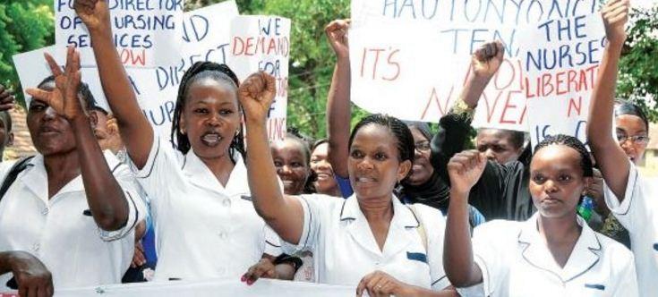 Image result for nurses strike kenya