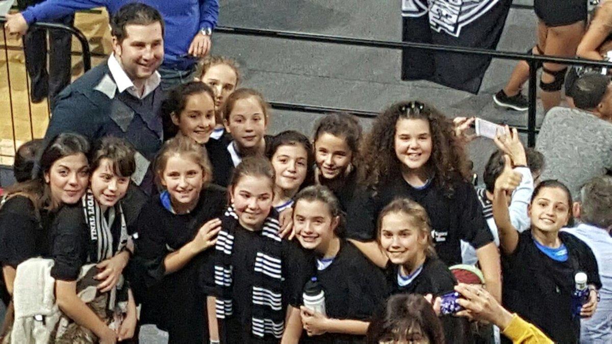 Nuestras minis de basket protagonistas del Bilbao Basket- Real Madrid