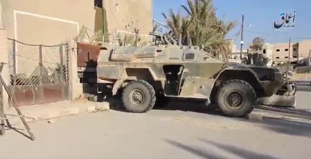 Российско-асадовские войска сдали ИГИЛу батарею гаубиц Д-30 в Пальмире - Цензор.НЕТ 2691