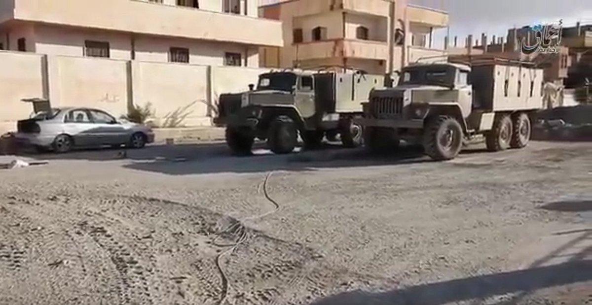 Российско-асадовские войска сдали ИГИЛу батарею гаубиц Д-30 в Пальмире - Цензор.НЕТ 7137