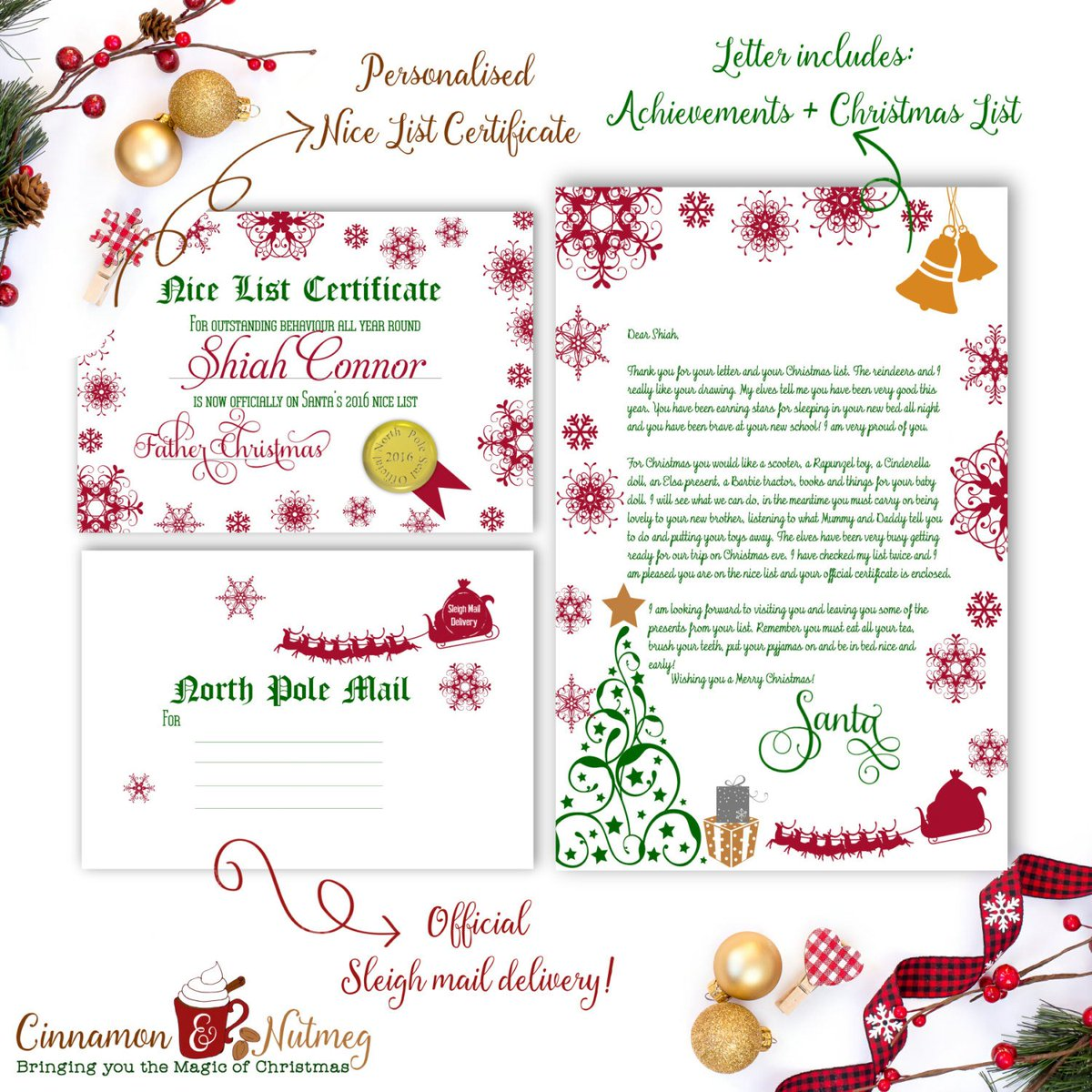 Cinnamon nutmeg cinnamonandnut twitter personalised santa letter from santa claus or father christmas done httptuppued2bfb8e etsy nicecertificatepicitteraevue1szfi spiritdancerdesigns Choice Image