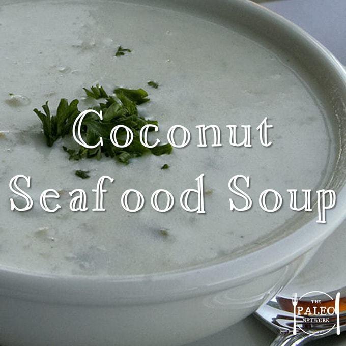 Recipe: coconut seafood soup