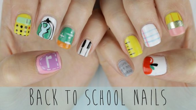 Back to School Nails: The Ultimate Guide! #CutePolish #Beauty #Nails