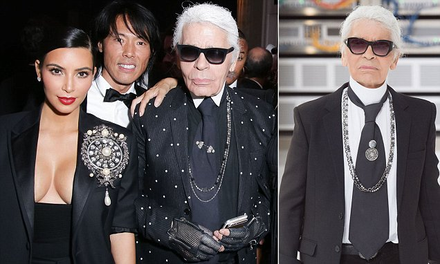 Lagerfeld chastises Kim Kardashian for flaunting her diamonds