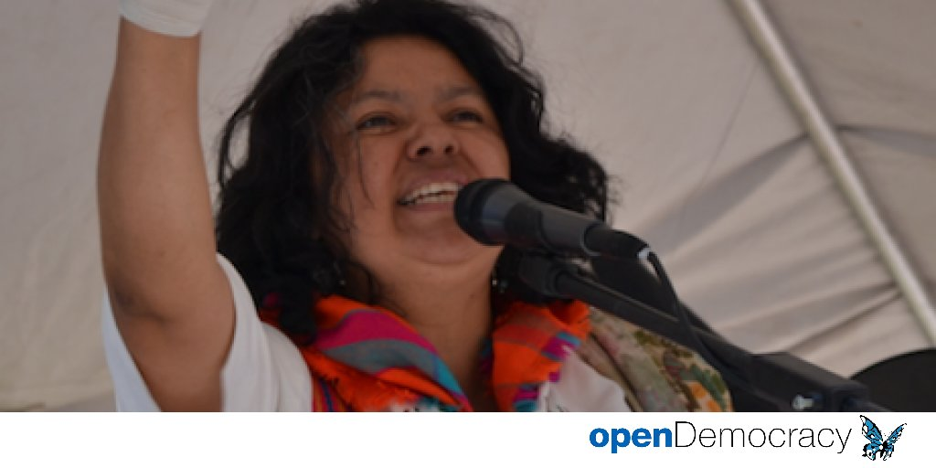 The voice of Berta Cáceres has become the voice of millions | openDemocracy https://t.co/AKJXrvk7zg https://t.co/x8MXC1sRyk
