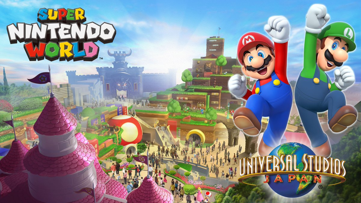 Super Nintendo World is Nintendo's first theme park, coming to Universal Studios Japan in July of 2020.  Check out the concept right here on Paul Gale Network!
