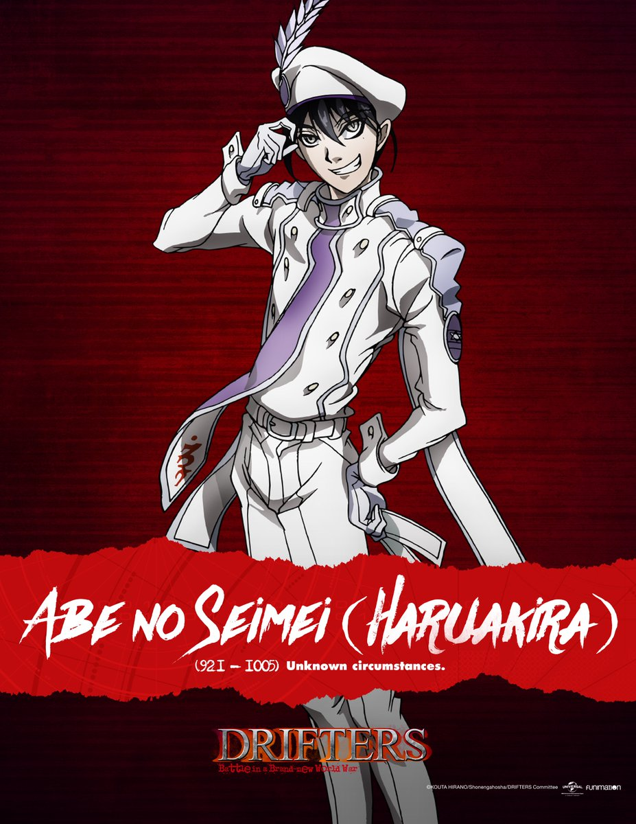 Funimation On Twitter The New SimulDub Episode Of Drifters Lands Tonight At 10pm ET Which Means More Characters For You To Meet Tco 7GBz1p2Oz6