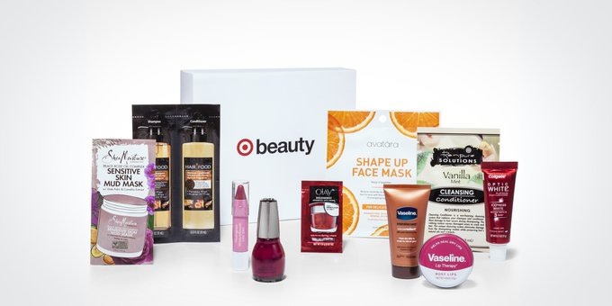 FREE Target Beauty Box with Purchase!🎁