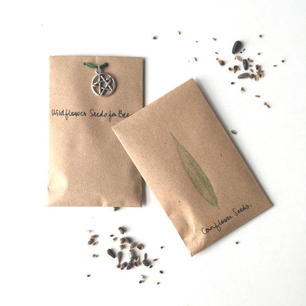DIY Wildflower Seed Packets