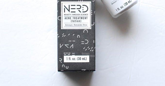 Nerd Skincare Acne Treatment Lotion