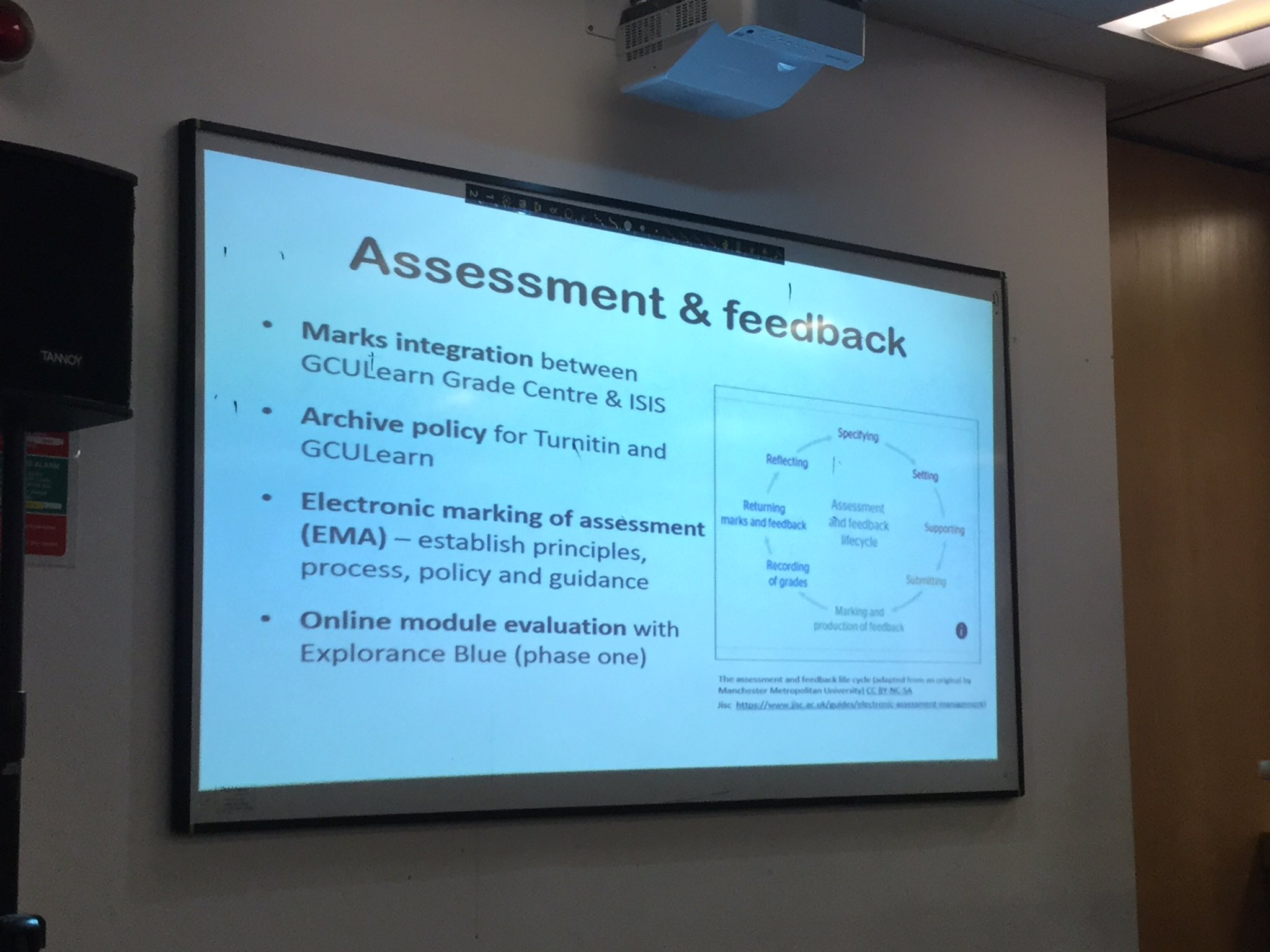 some of the ongoing work around assessment and feedback #LTGCU https://t.co/epnZUXUW6I