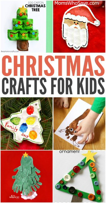 40 Christmas Crafts for Kids