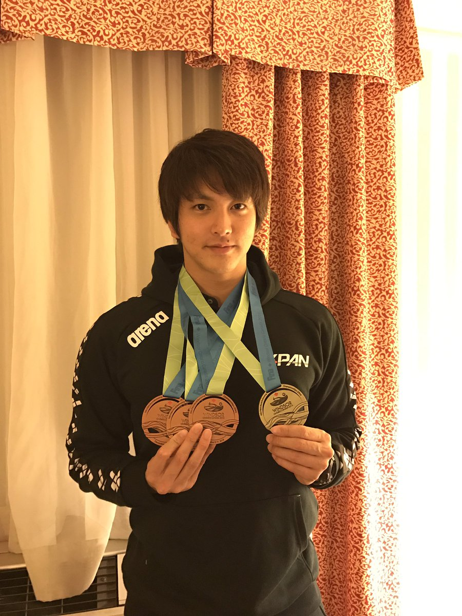 今回の世界選手権では、金一つ、銅三つの合計四つのメダルを獲得することが出来ました。 日頃の努力を認め、応援し後押しをしてくださった皆様には本当に感謝しています。今後とも応援よろしくお願い致します。 https://t.co/JWeC3uM7rl