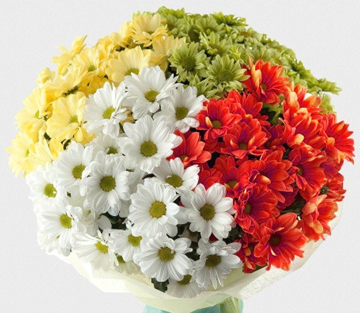 Для, большой букет на свадьбу с игольчатой хризантемой
