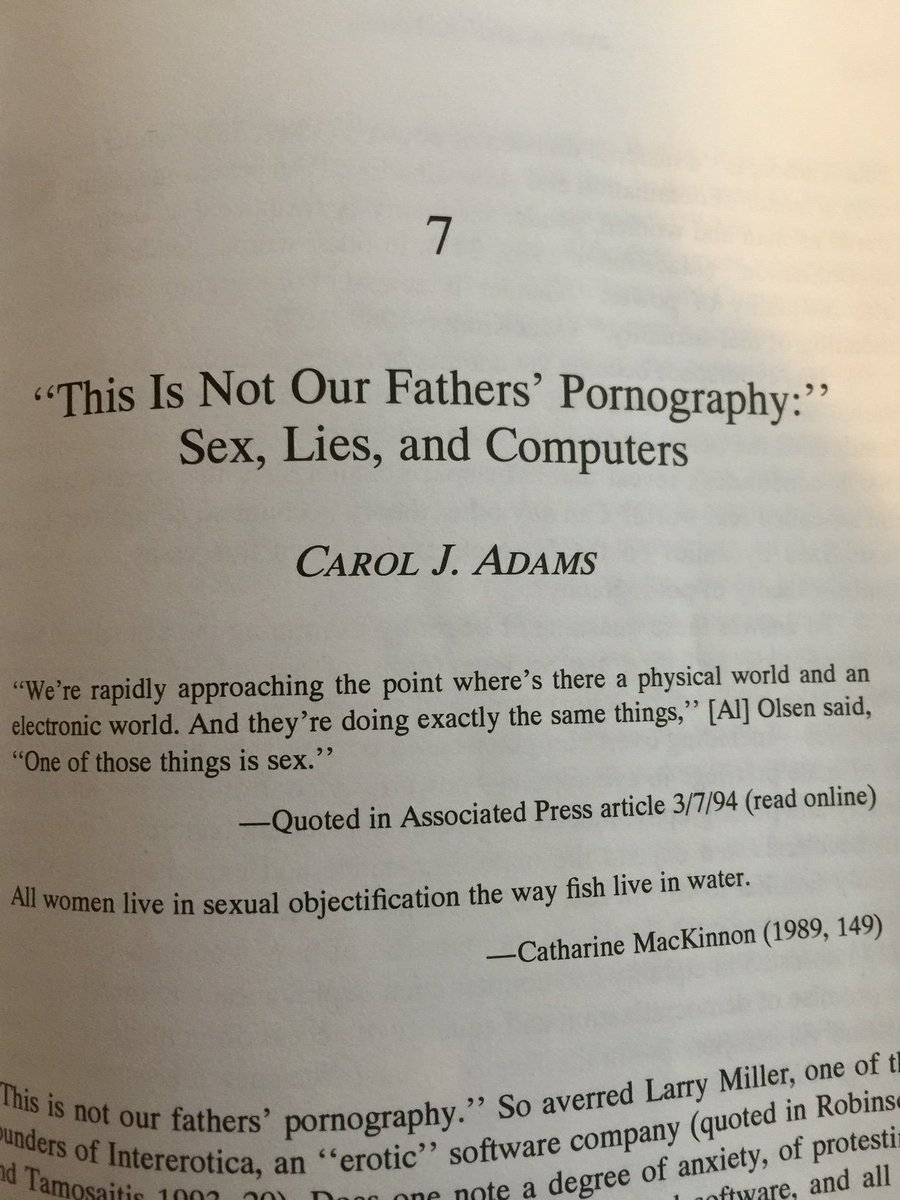 Academic chapter on the masculinity of the computer. 1996 @RealPeerReview https://t.co/4NWNbGFgsH