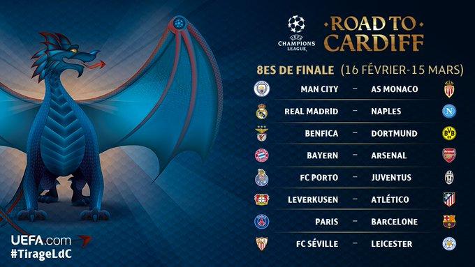 Ligue des Champions : du très lourd pour le PSG et Monaco !